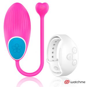 Wearwatch δονούμενο αυγό Wireless Technology Watchme Fuchsia / Snowy