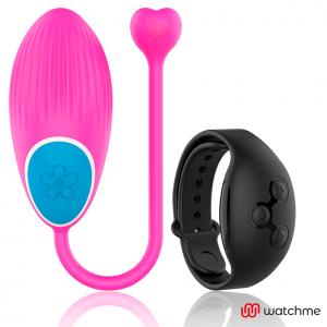 Wearwatch δονούμενο αυγό Wireless Technology Watchme Fuchsia / Jet Black