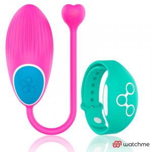 Wearwatch δονούμενο αυγό Wireless Technology Watchme Fuchsia / Aquamarine
