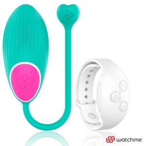 Wearwatch δονούμενο αυγό Wireless Technology Watchme Aquamarine / Snowy