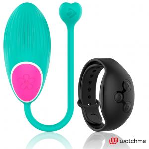 Wearwatch δονούμενο αυγό Wireless Technology Watchme Aquamarine / Jet Black