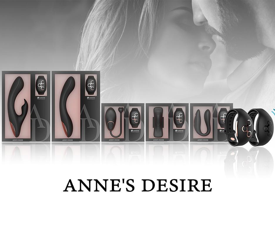 Διπλοί δονητές Rabbit και δονούμενα αυγά Anne's Desire