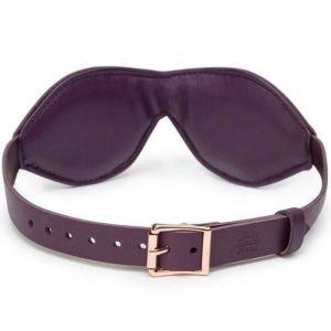 Μάσκα ματιών δερμάτινη Fifty Shades Freed Leather Blindfold
