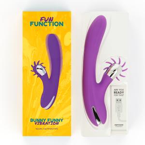 Δονητής Hi-Tech Fun Function Bunny Funny Vibration 2.0