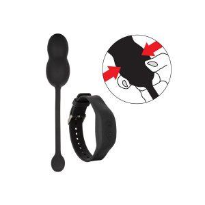 Μπάλες Calex Soft για ασκήσεις Kegel με τηλεχειρισμό από Wristband