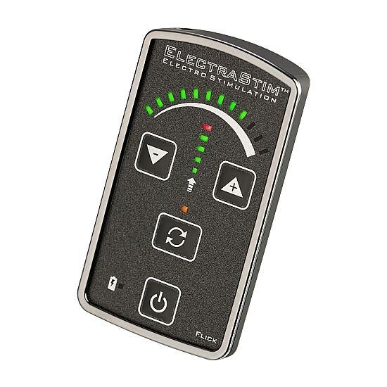 Electrastim Flick Stimulator Multi-Pack για μασάζ και διέγερση της γυναίκας και του άντρα. Κατάλληλο για κολπική και πρωκτική χρήση. Περιέχει δαχτυλίδι πέους.