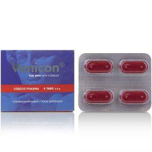 Ενίσχυση στύσης VENICON FOR MEN 4 TABS